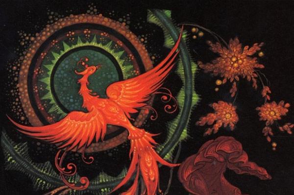 Сакральная женская баня обряд Жар-птица
