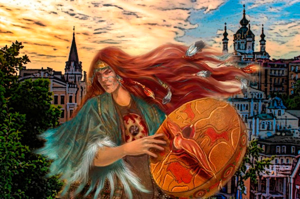 Прогулка по Киеву с шаманкой