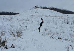 Гора Тотоха зимой