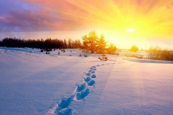Место силы гора Тотоха на зимнее солнцестояние